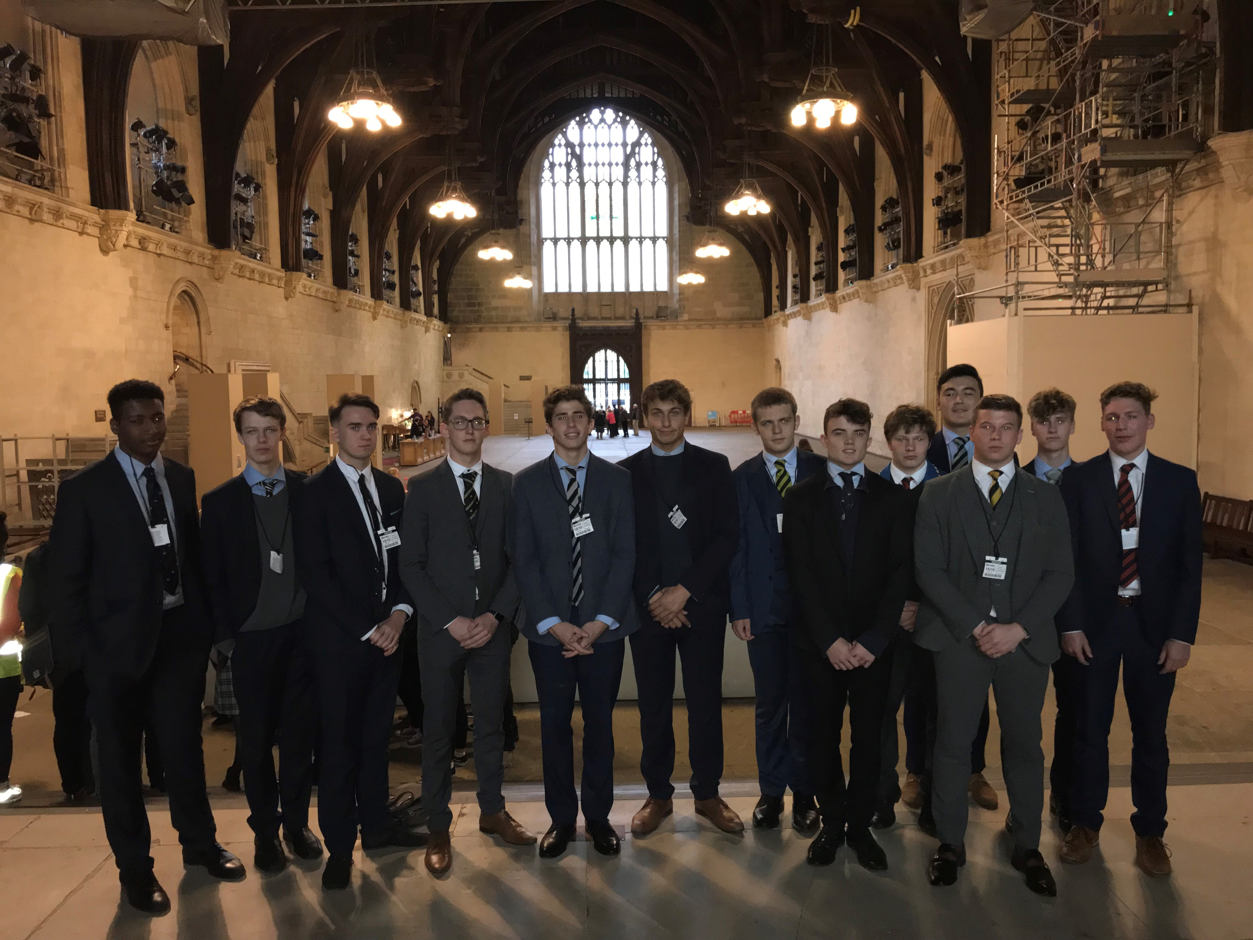 Sixth Form Historians Visit The House of Parliament